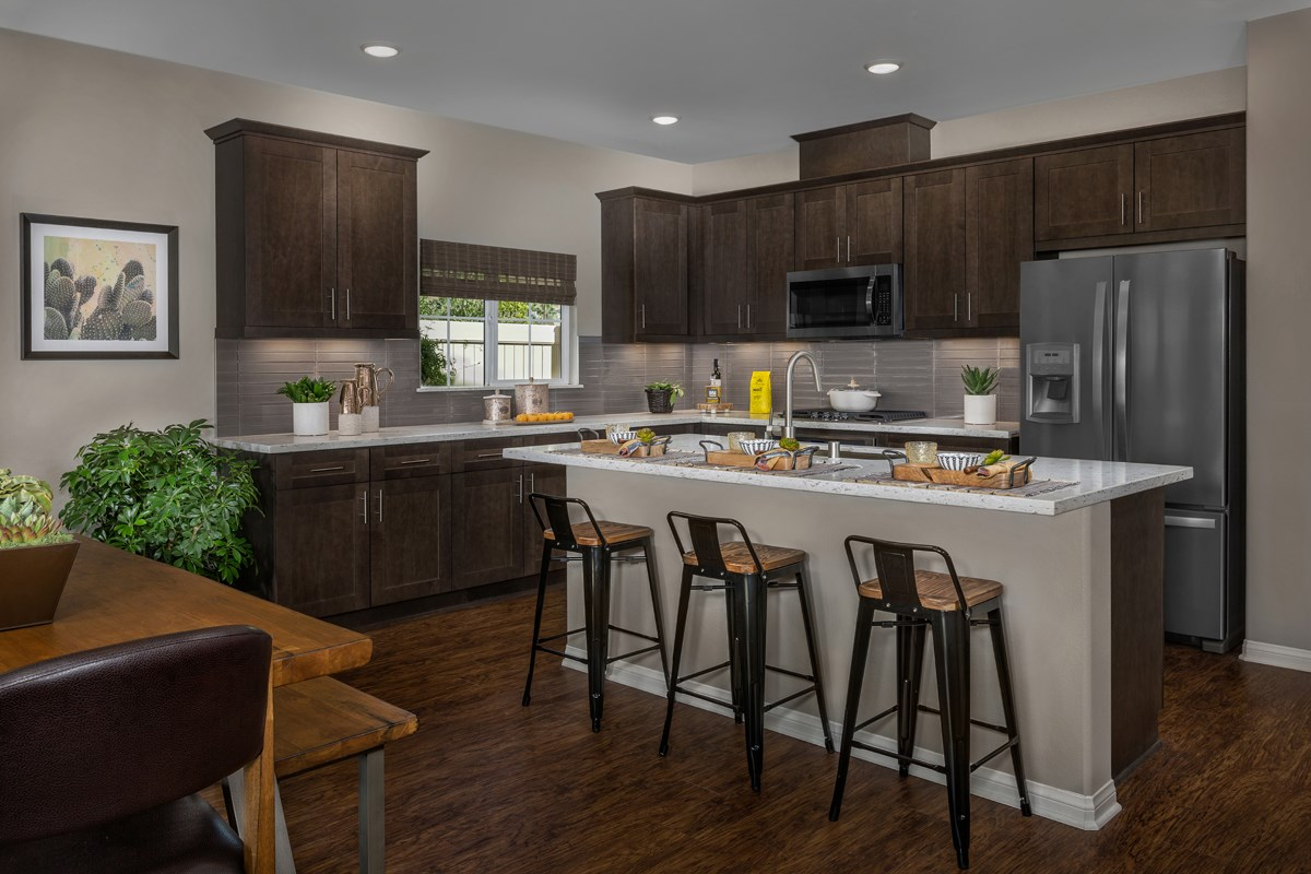 New Homes in Moreno Valley, CA - Bella Cortina Residence 2128 - Kitchen