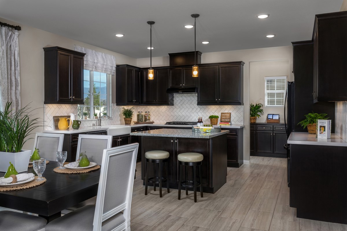 New Homes in Moreno Valley, CA - Bella Cortina Residence Four - Kitchen