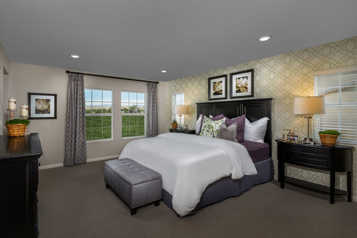 New Homes in Moreno Valley, CA - Bella Cortina Residence Four - Master Bedroom