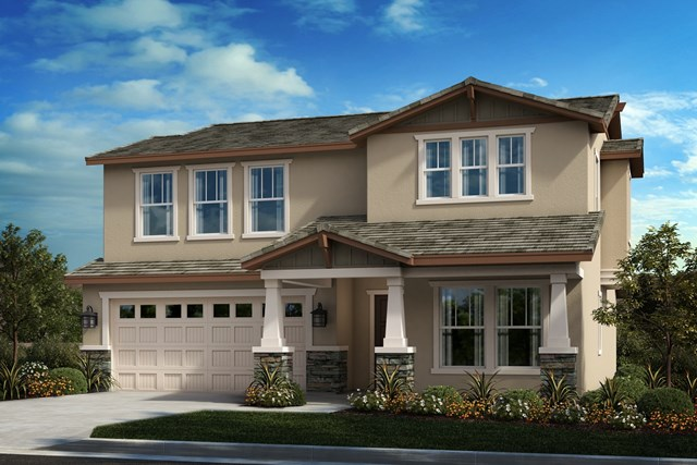New Homes in Moreno Valley, CA - Craftsman 'B'