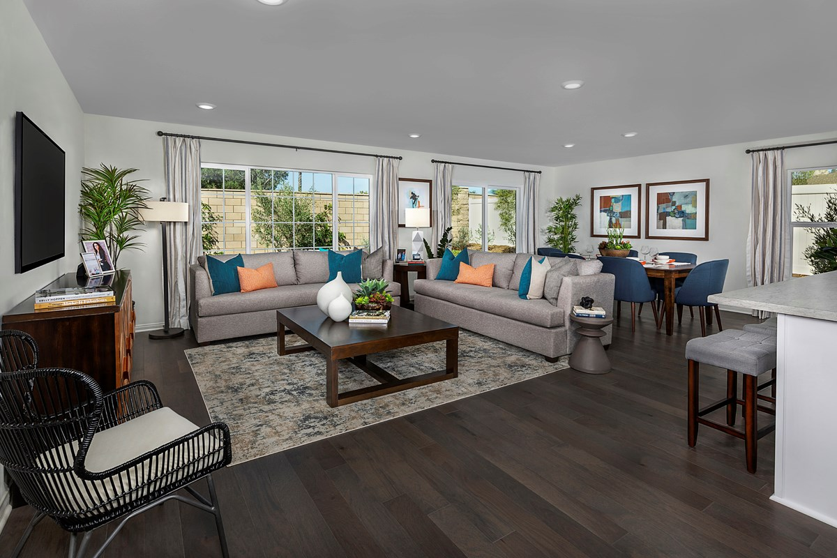 New Homes in Moreno Valley, CA - Boulder Ridge Residence Two - Great Room