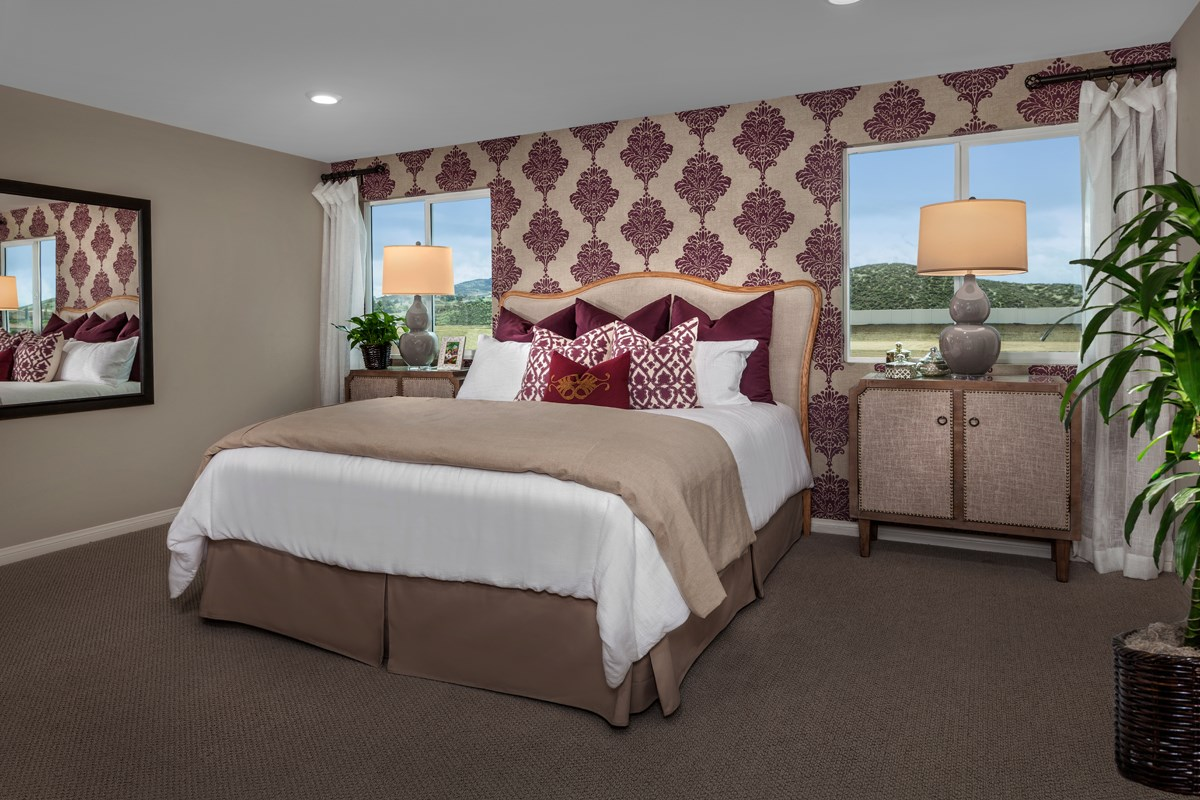 New Homes in Winchester, CA - Camberly Place Residence 2773 Master Bedroom