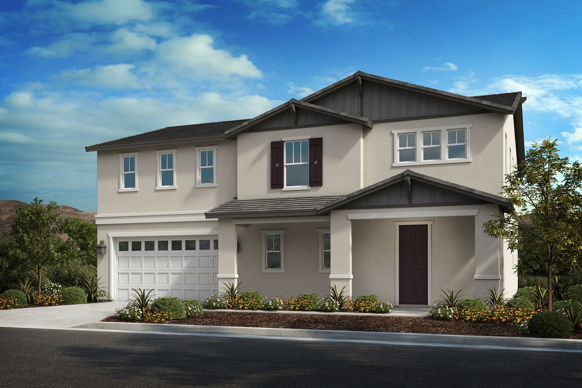 Residence Five New Home Floor Plan In Camberly Place By