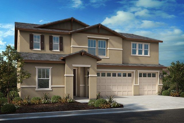 New Homes in French Valley, CA - Craftsman 'C' 3-car