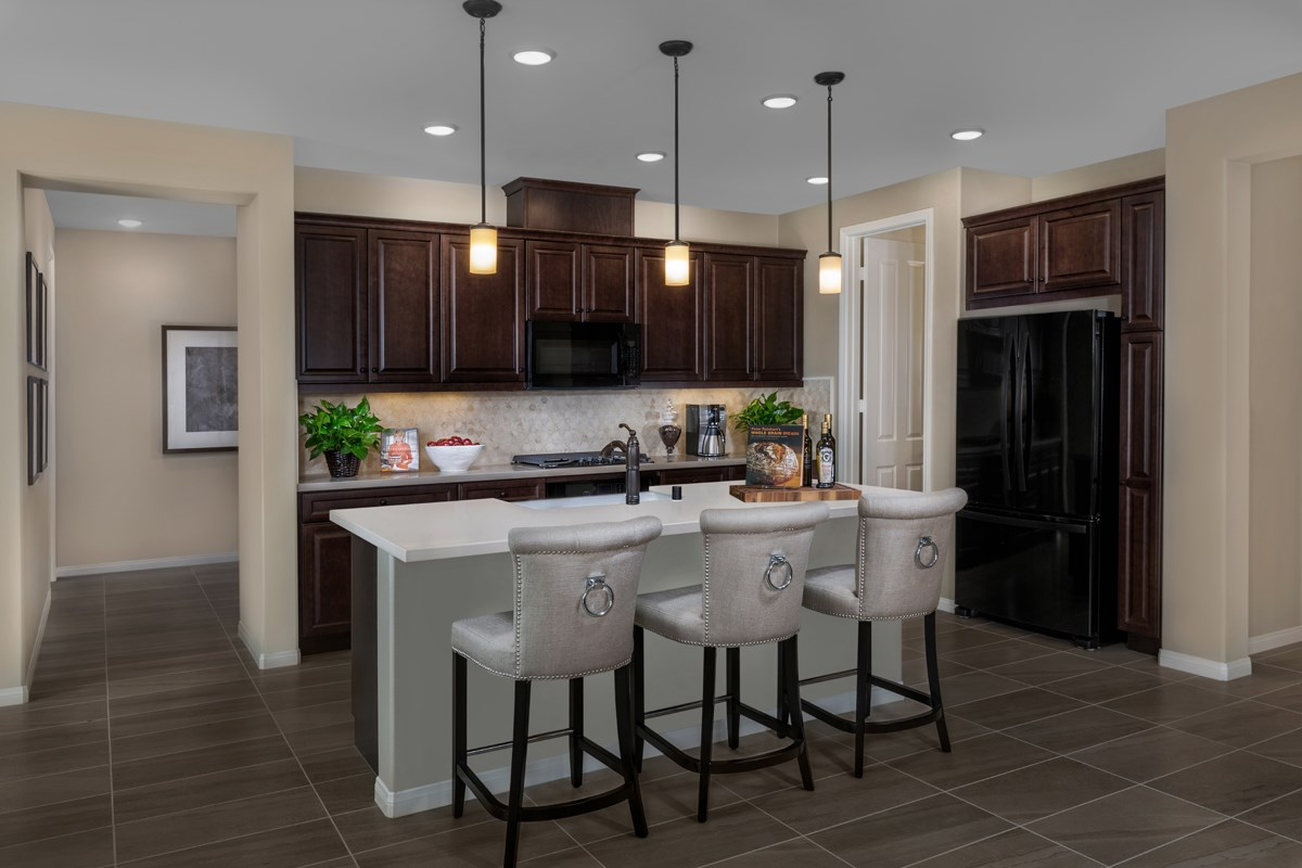 New Homes in Riverside, CA - Capistrano at Spring Mountain Ranch Residence Two - Kitchen