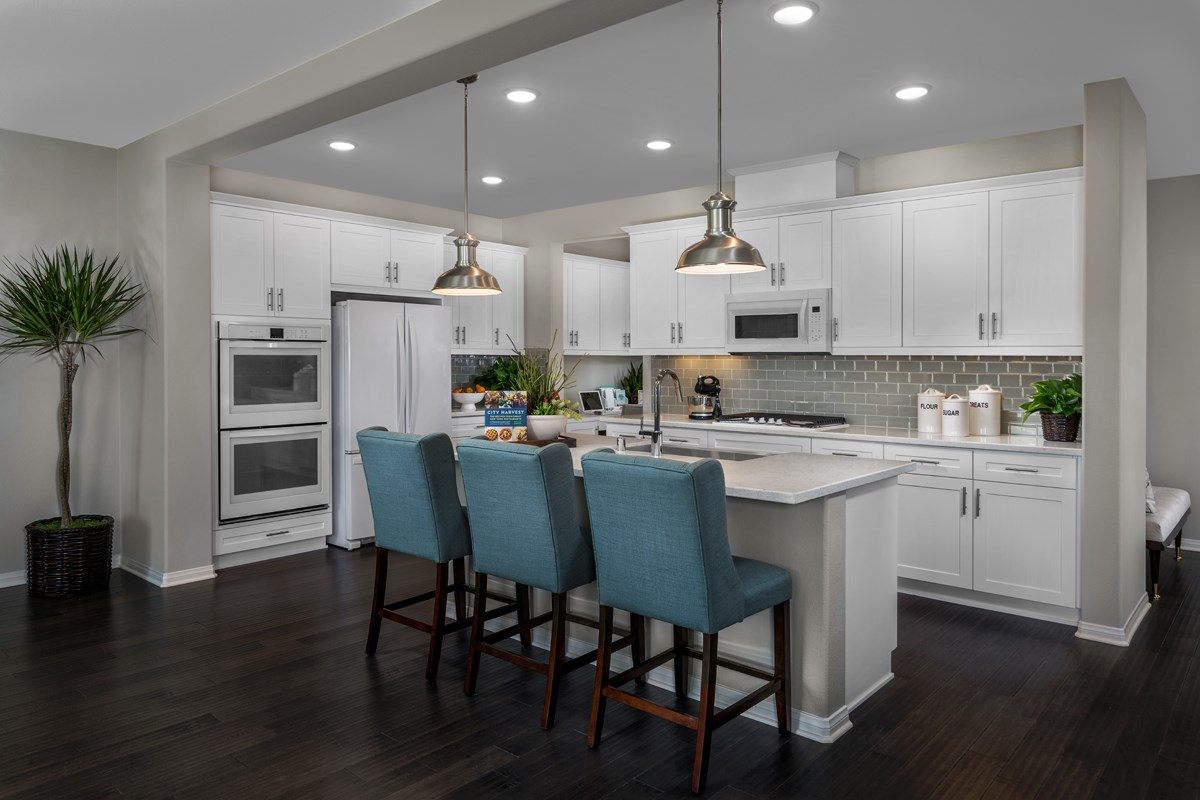 New Homes in Riverside, CA - Capistrano at Spring Mountain Ranch Residence Four - Kitchen