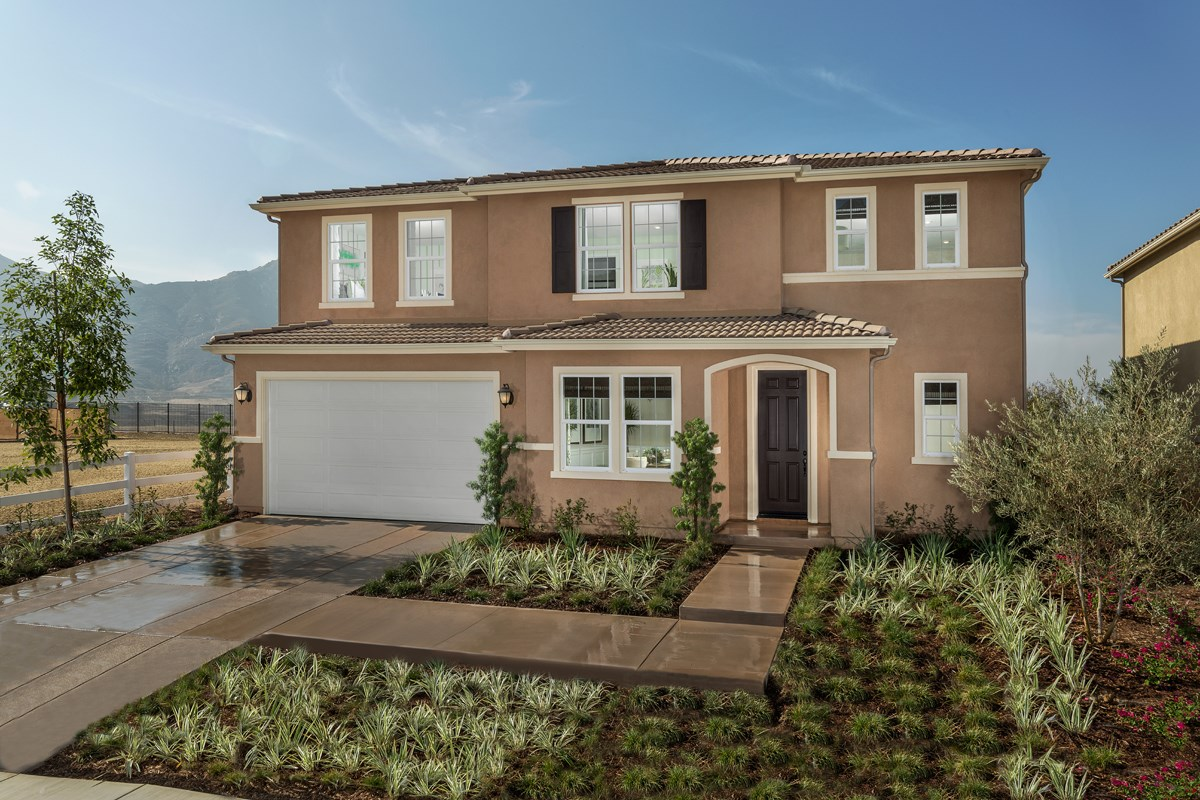 New Homes in Riverside, CA - Capistrano at Spring Mountain Ranch Residence Six