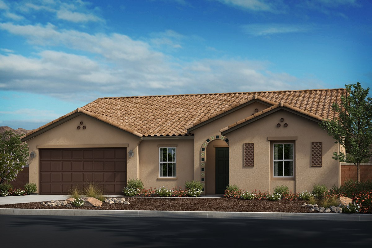 New Homes in Riverside, CA - Capistrano at Spring Mountain Ranch Residence Three - Spanish 'A'