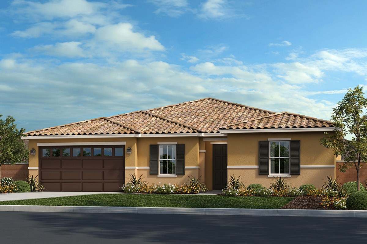 New Homes in Riverside, CA - Capistrano at Spring Mountain Ranch Residence Three - Tuscan 'B'
