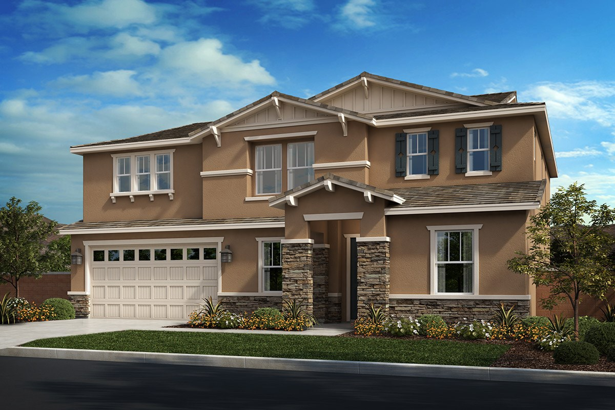 New Homes in Riverside, CA - Capistrano at Spring Mountain Ranch Residence Five