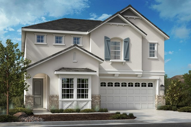 New Homes in Corona, CA - European Cottage 'D'