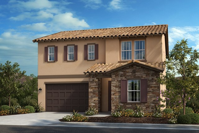 New Homes in Corona, CA - Tuscan 'B'