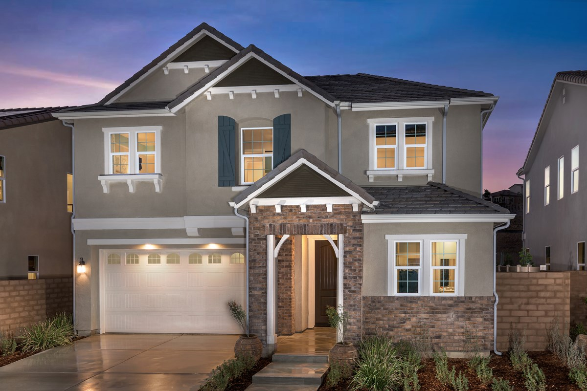 New homes in corona ca caraway at terramor residence four