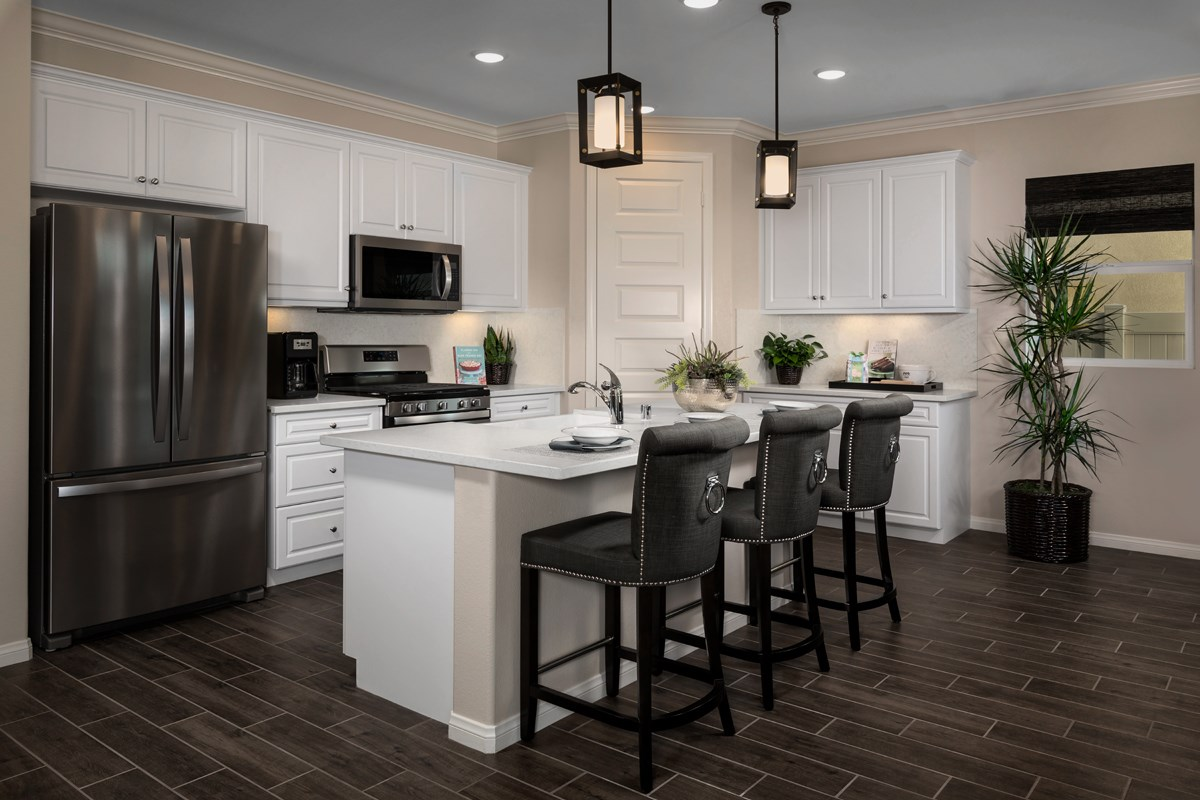 New Homes in Temescal Valley, CA - Caraway at Terramor Residence Four - Kitchen