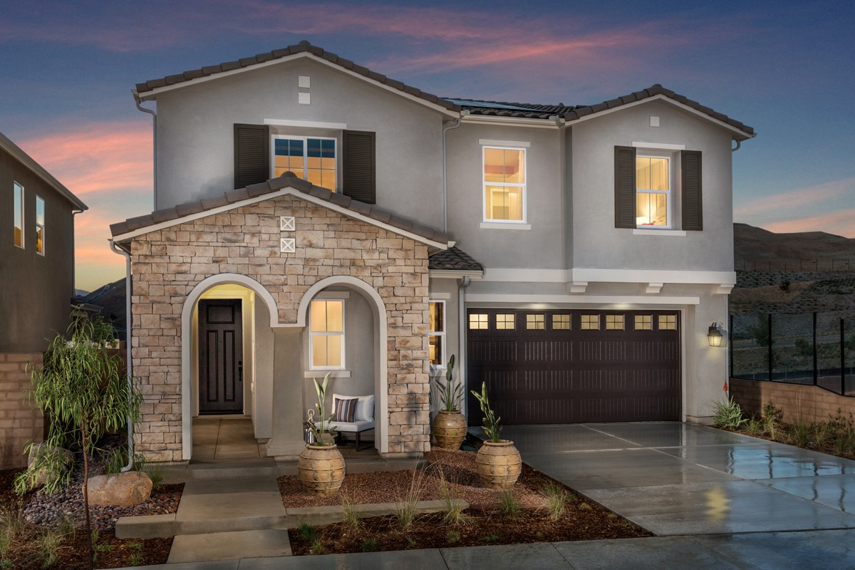 New homes in corona ca caraway at terramor residence six
