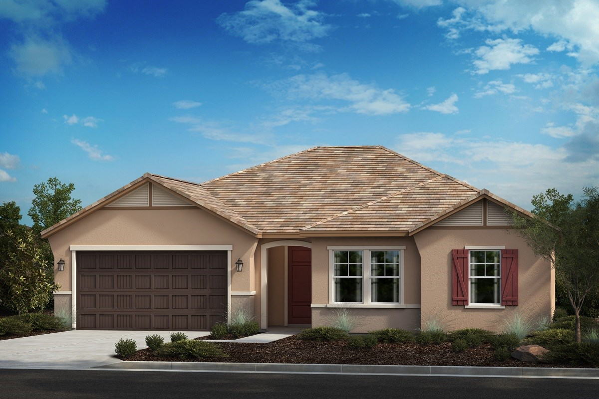 New Homes in Riverside, CA - Carmel Ridge at Spring Mountain Ranch Residence 2913 - French Cottage 'C'