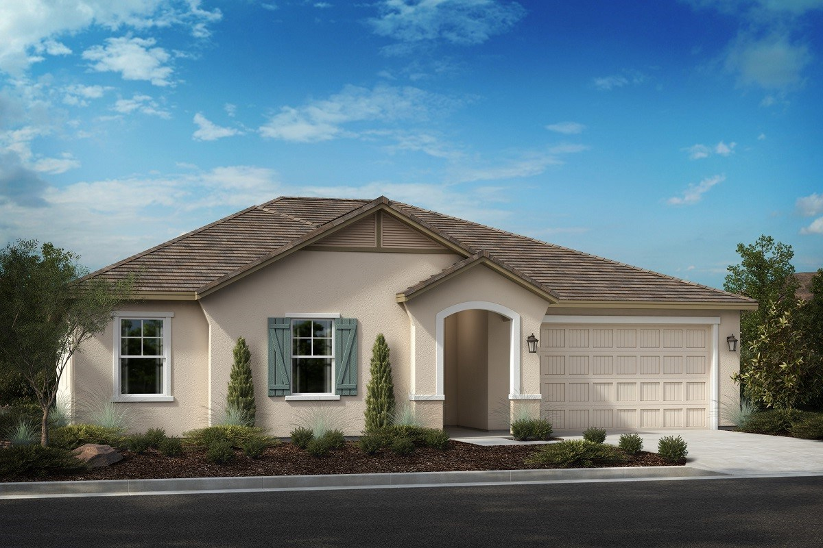 New Homes in Riverside, CA - Carmel Ridge at Spring Mountain Ranch Residence 2628 - French Cottage 'C'