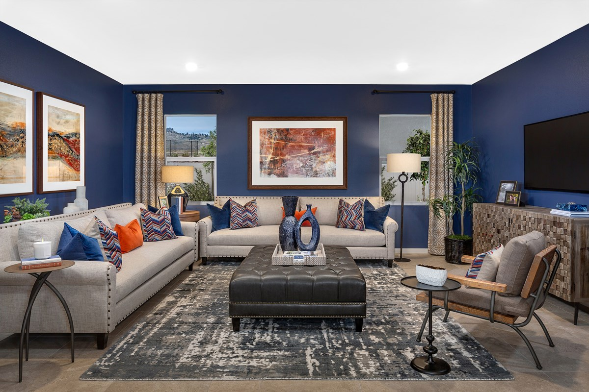 New Homes in Riverside, CA - Carmel Ridge at Spring Mountain Ranch Residence Five - Flex Room