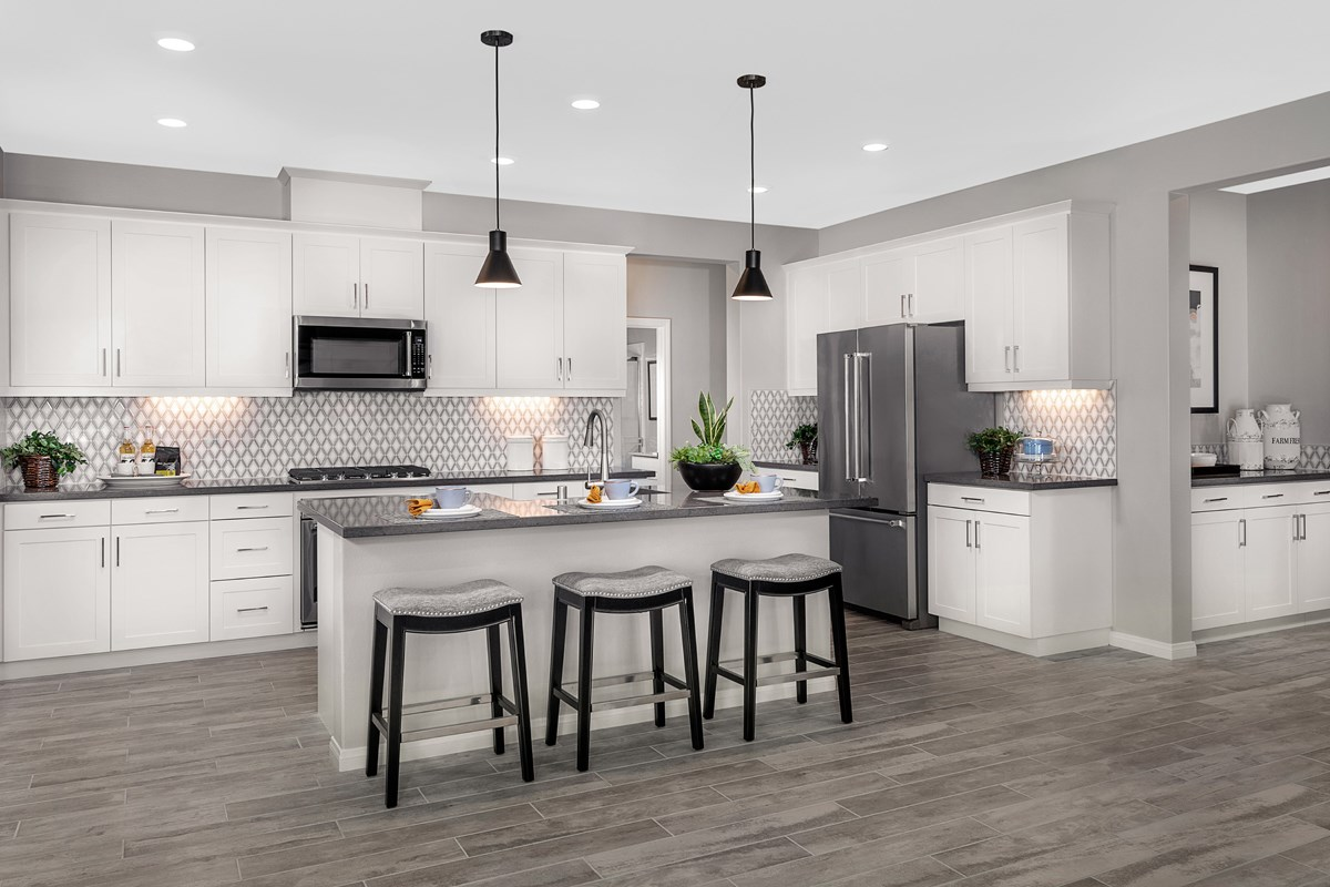 New Homes in Riverside, CA - Carmel Ridge at Spring Mountain Ranch Residence 3228 - Kitchen
