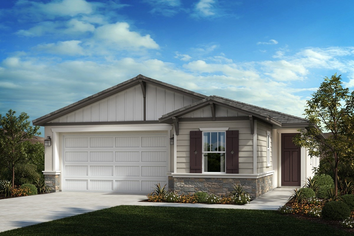 New Homes in Ontario Ranch, CA - Countryside Residence 1861 - California Bungalow 'B'