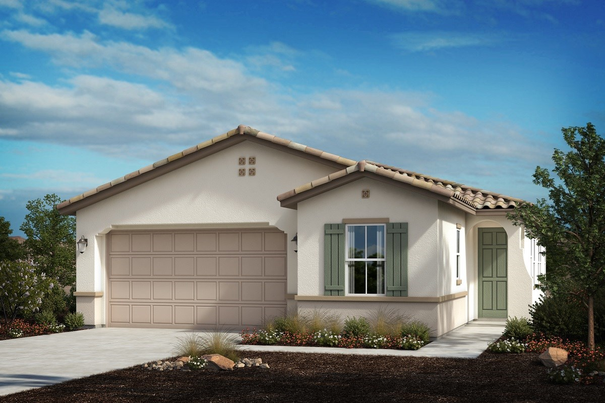 New Homes in Ontario Ranch, CA - Countryside Residence 1861 - Spanish Colonial 'A'