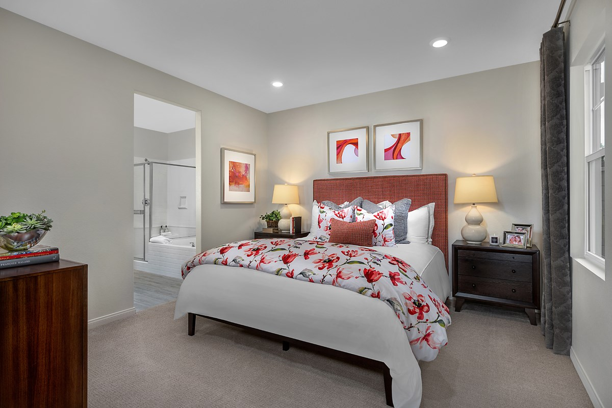 New Homes in Ontario Ranch, CA - Countryside Residence One - Master Bedroom
