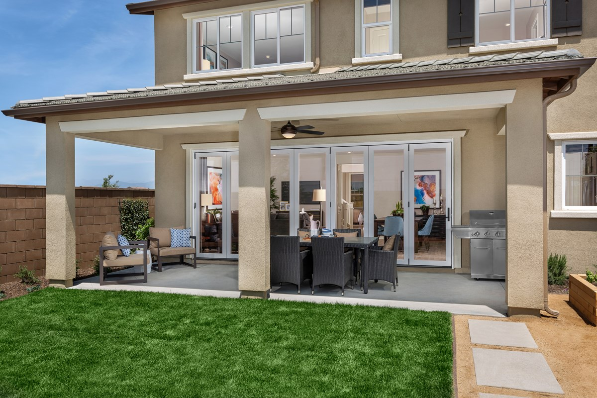 New Homes in Ontario Ranch, CA - Countryside Residence Two - Patio