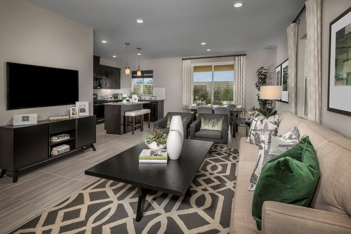 New Homes in Menifee, CA - Cypress at Hidden Hills Residence 1575 - Great Room