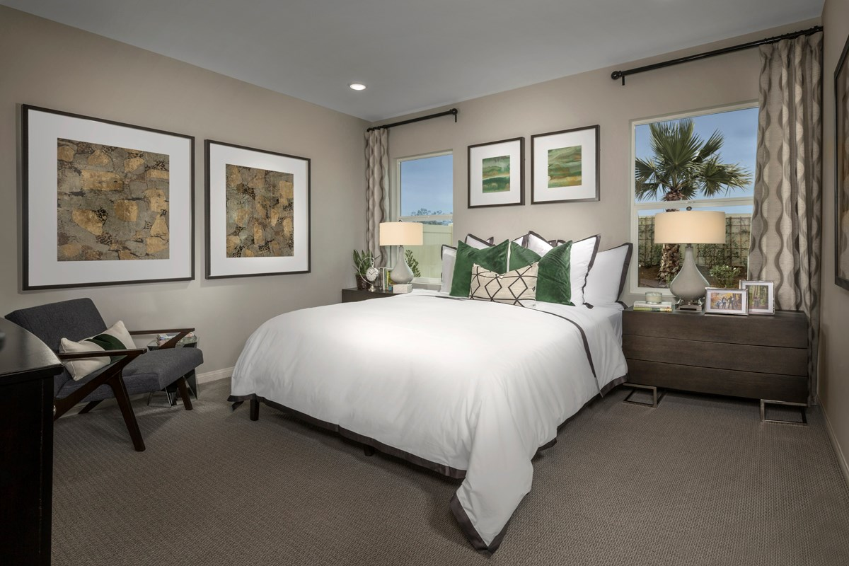 New Homes in Menifee, CA - Cypress at Hidden Hills Residence 1575 - Master Bedroom