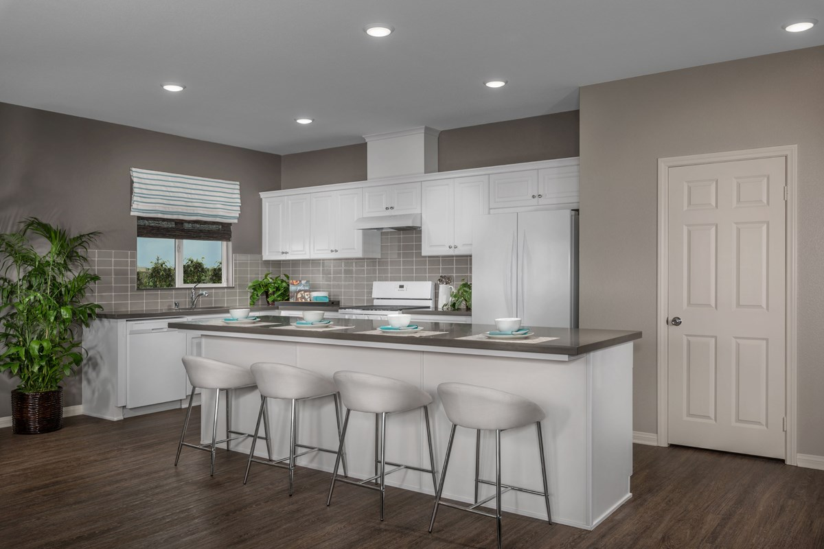 New Homes in Menifee, CA - Cypress at Hidden Hills Residence 1860 - Kitchen