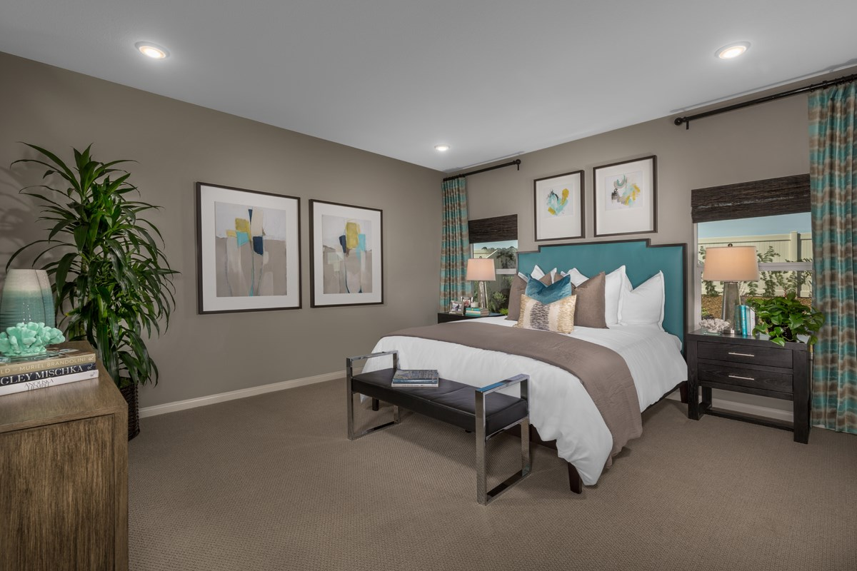 New Homes in Menifee, CA - Cypress at Hidden Hills Residence 1860 - Master Bedroom