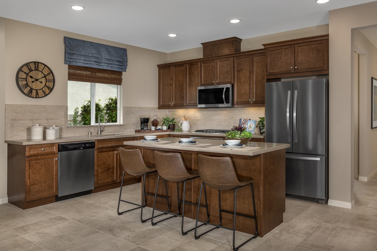 New Homes in Menifee, CA - Cypress at Hidden Hills Residence 2091 - Kitchen