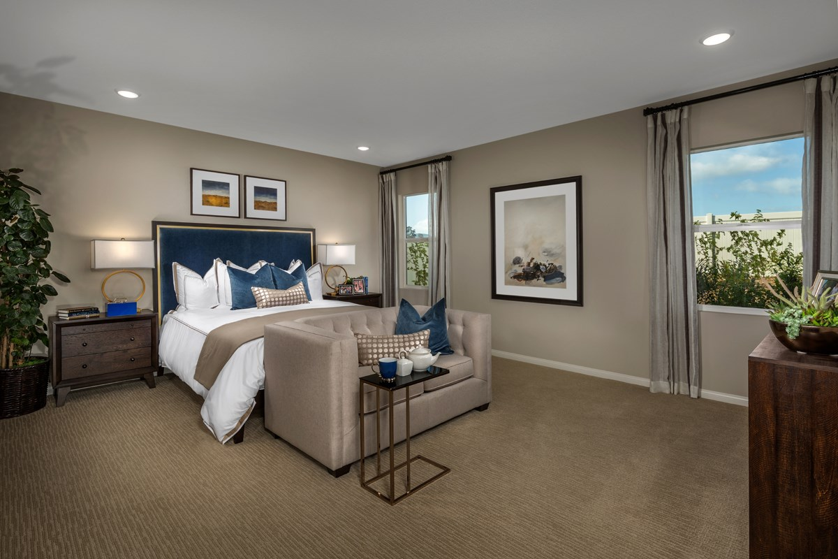 New Homes in Menifee, CA - Cypress at Hidden Hills Residence 2091 - Master Bedroom