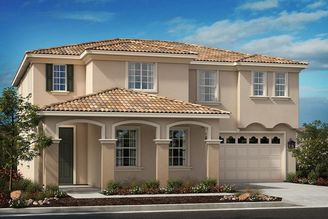 New Homes in Moreno Valley, CA - Italianate 'D'