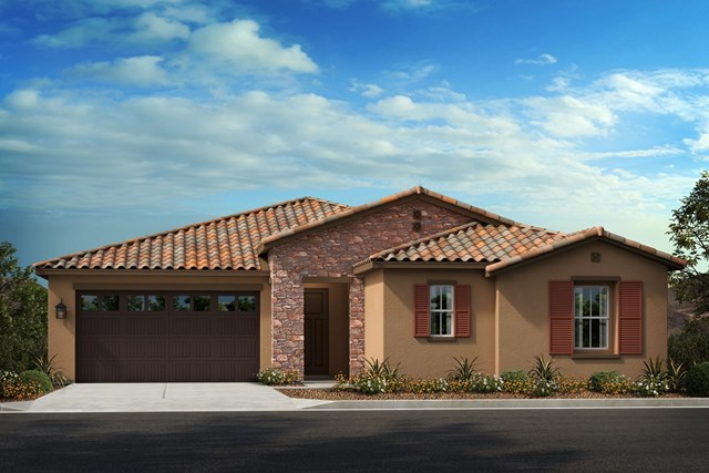 New Homes in Moreno Valley, CA - Tuscan 'B' with Jr. Suite