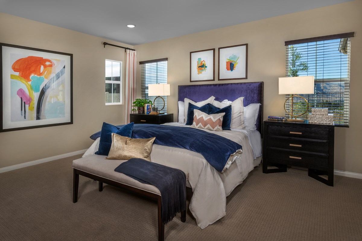 New Homes in Moreno Valley, CA - Daybreak Residence 2159 - Master Bedroom