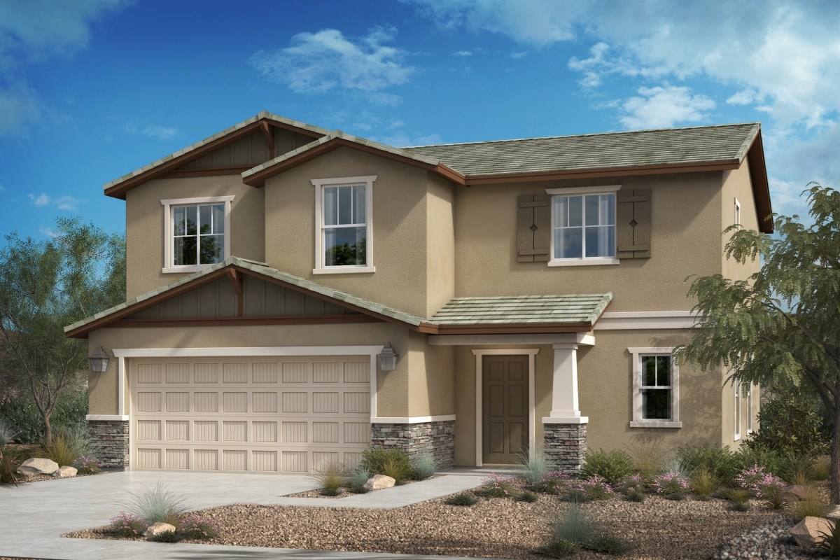 New Homes in Victorville, CA - Falcon Ridge Residence Three - Craftsman