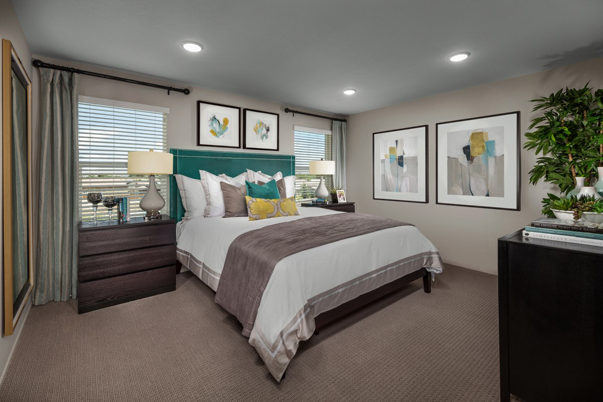 New Homes in Victorville, CA - Falcon Ridge Residence 1901 - Master Bedroom