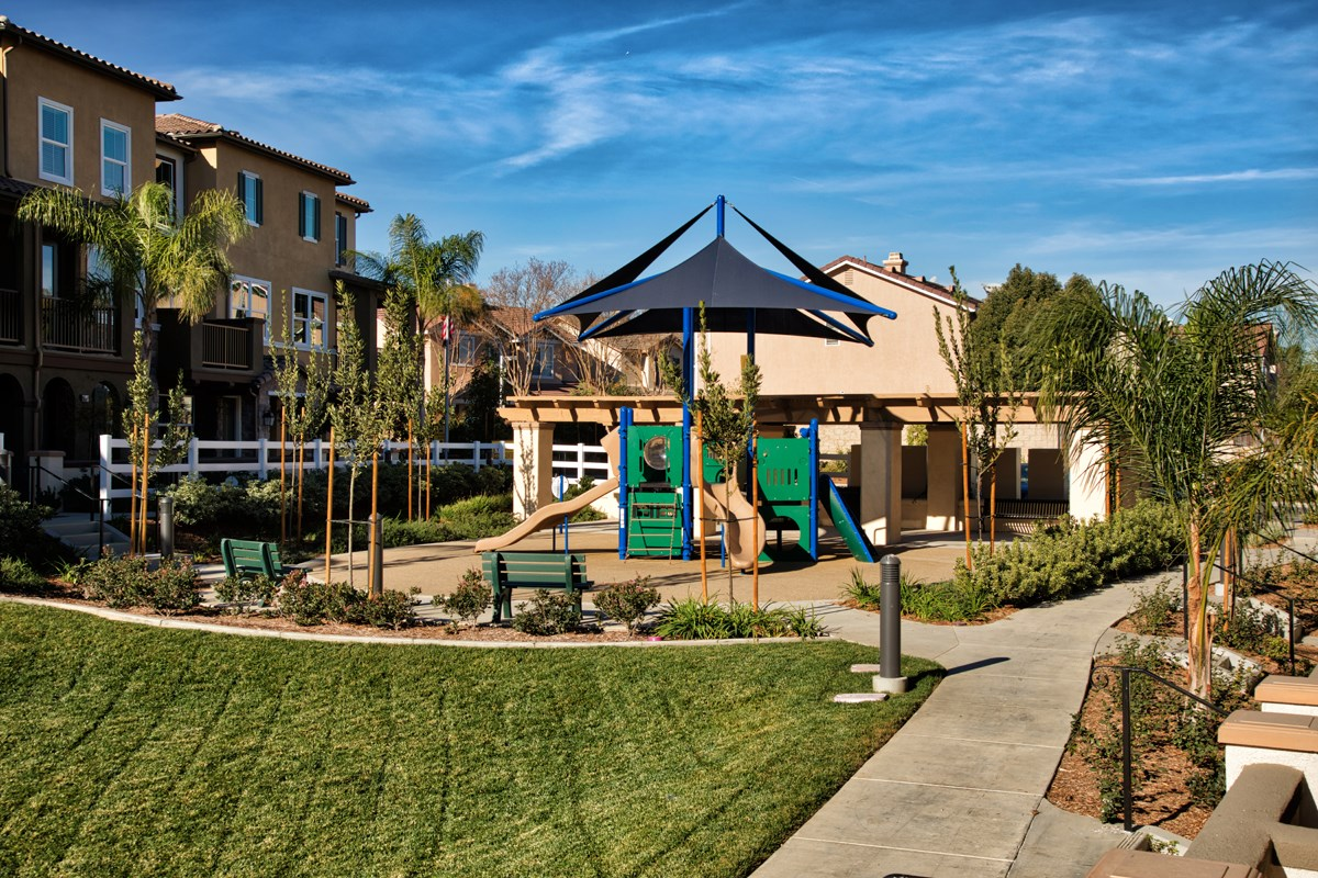 New Homes in Chino Hills, CA - Jade Tree Tot Lot