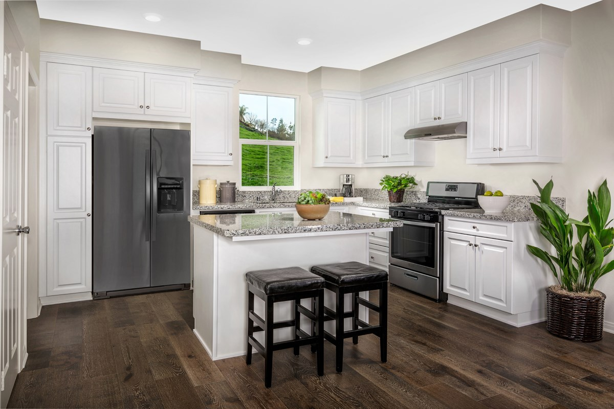 New Homes in Chino Hills, CA - Jade Tree Unit Three - Kitchen