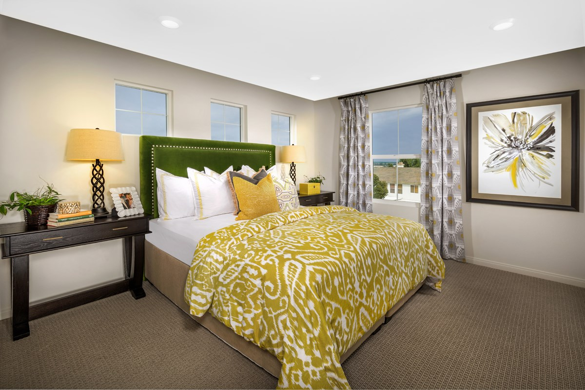 New Homes in Chino Hills, CA - Jade Tree Unit Three - Master Bedroom