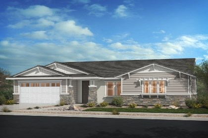 New Homes in Rancho Cucamonga, CA - Craftsman 'B'