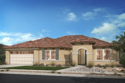 New Homes in Rancho Cucamonga, CA - Italianate 'E'