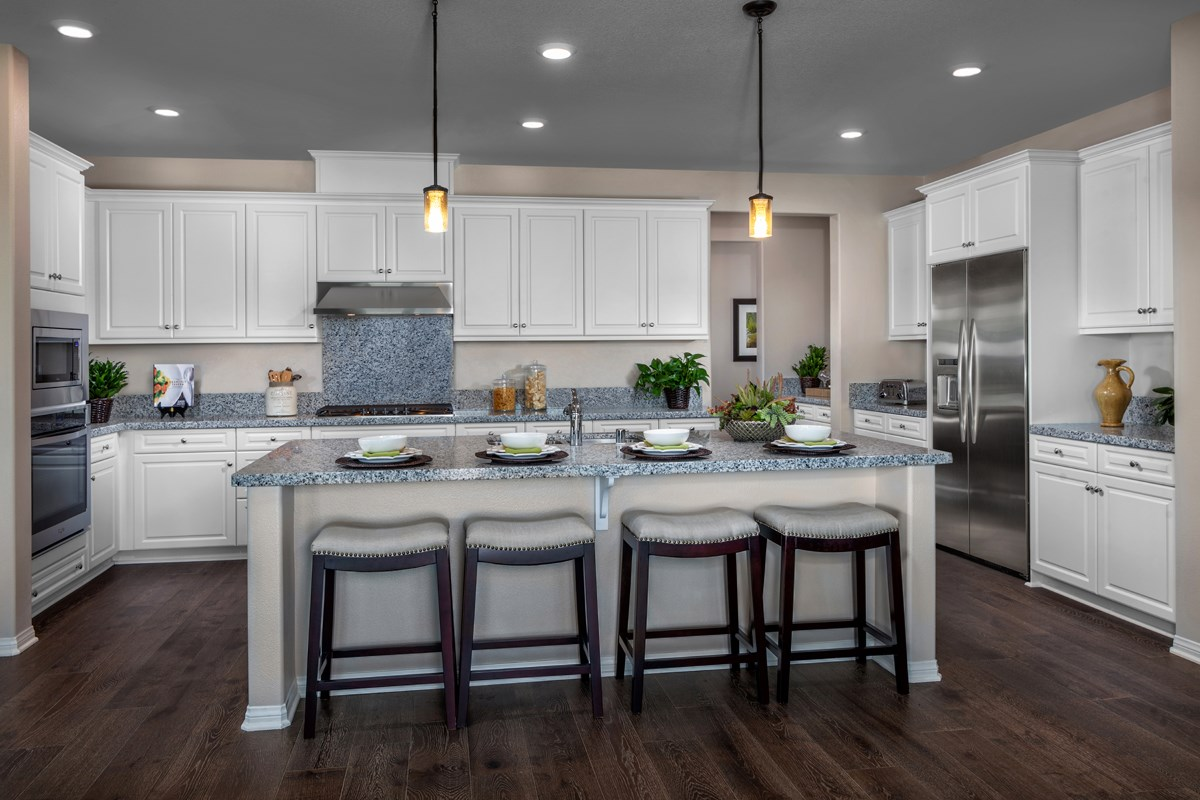New Homes in Rancho Cucamonga, CA - La Ventana Residence 3115 - Kitchen