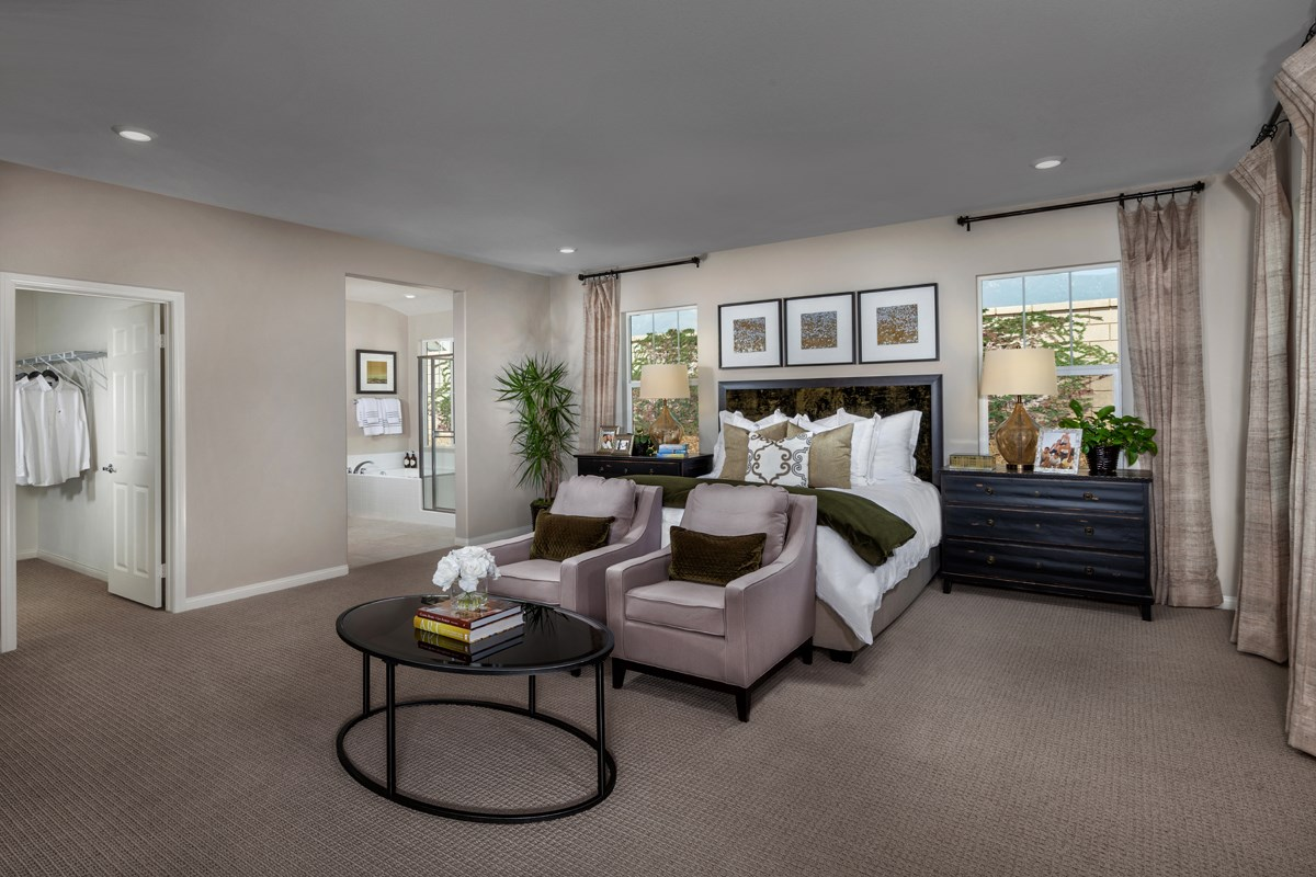 New Homes in Rancho Cucamonga, CA - La Ventana Residence 3115 - Master Bedroom