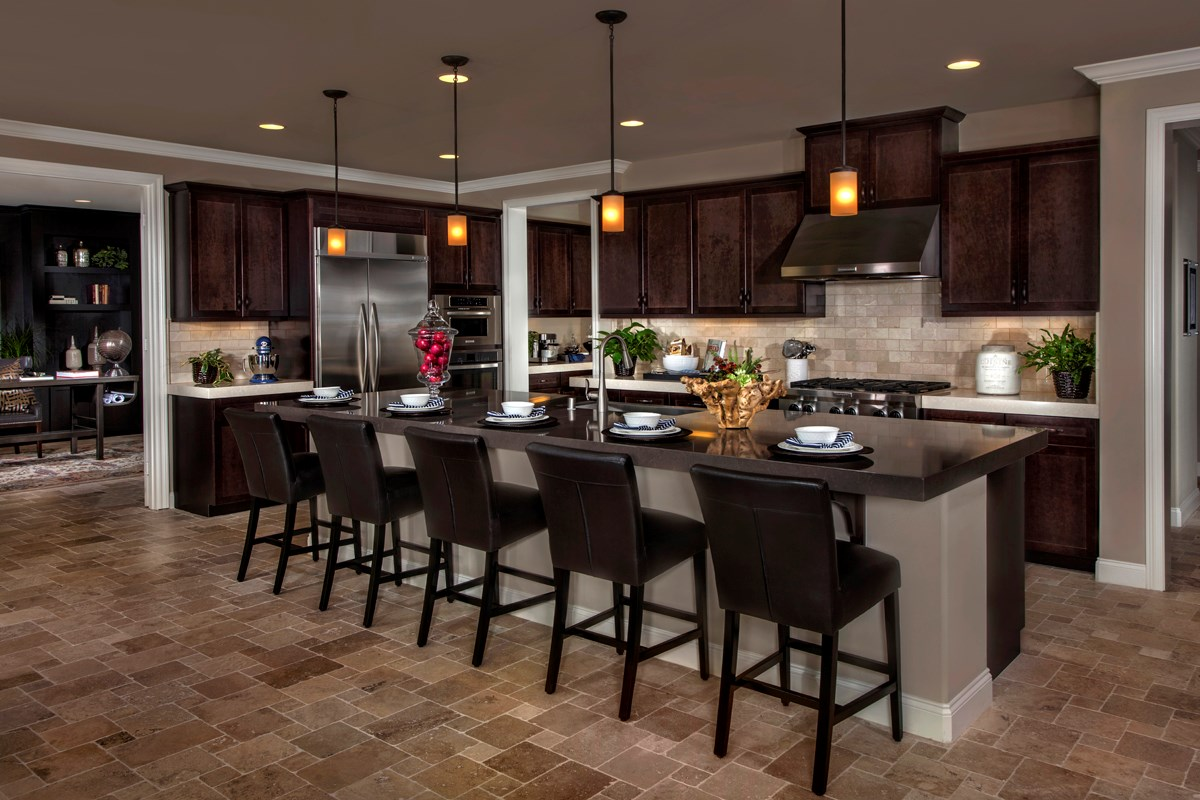 New Homes in Rancho Cucamonga, CA - La Ventana Residence 3620 - Kitchen