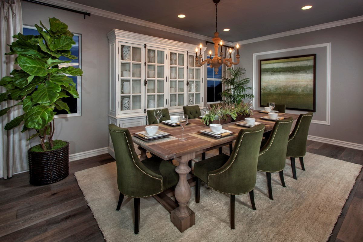 New Homes in Rancho Cucamonga, CA - La Ventana Residence 4506 - Dining Room