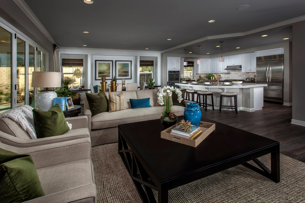 New Homes in Rancho Cucamonga, CA - La Ventana Residence 4506 - Great Room