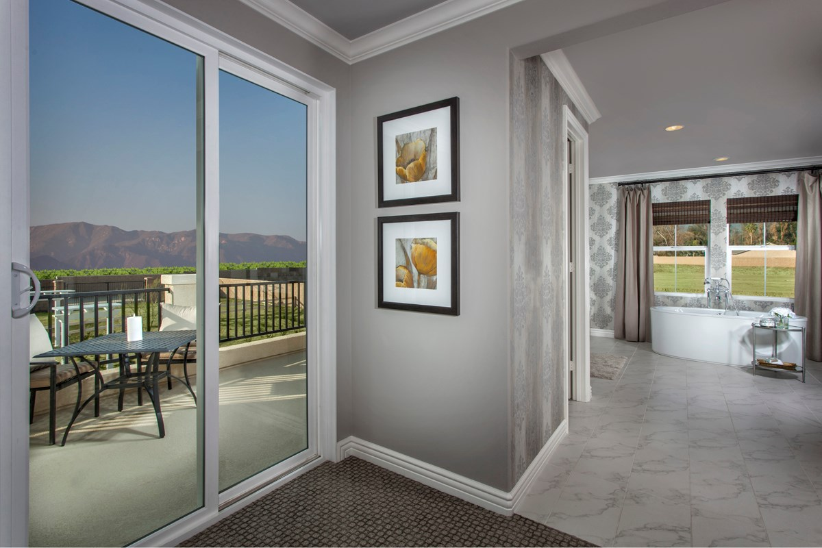 New Homes in Rancho Cucamonga, CA - La Ventana Residence 4506 - Balcony