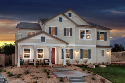New Homes in Rancho Cucamonga, CA - Farmhouse 'C'